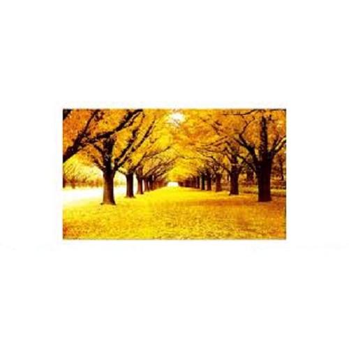 Tranh thêu mùa thu lá vàng - lv3303