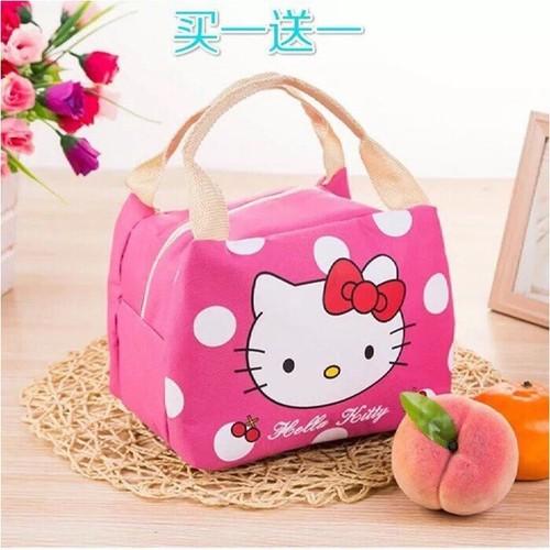 Túi  giữ nhiệt hoạt hình - túi đựng cơm