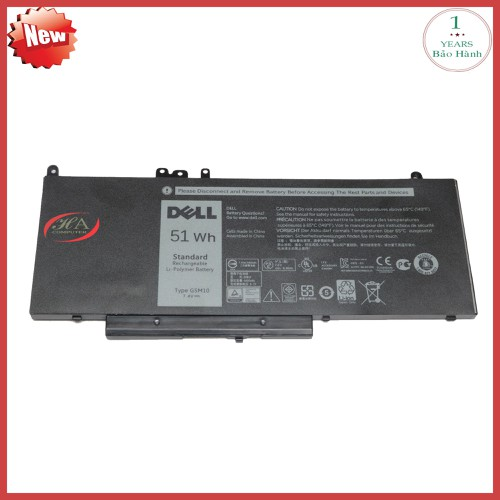 Pin laptop dell Latitude 5450  51 Wh - 11641645 , 21110745 , 15_21110745 , 1070000 , Pin-laptop-dell-Latitude-5450-51-Wh-15_21110745 , sendo.vn , Pin laptop dell Latitude 5450  51 Wh
