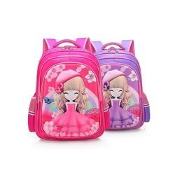 Balo trẻ em- Balo công chúa 3D