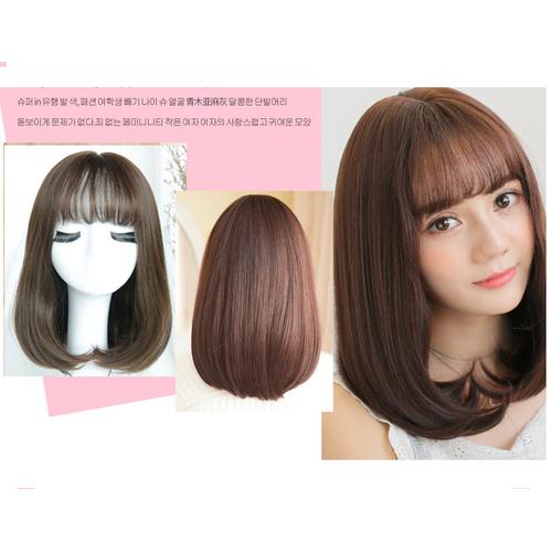 Tóc giả nữ hàn quốc - tặng kèm túi lưới trùm tóc - 19255905 , 21106743 , 15_21106743 , 119000 , Toc-gia-nu-han-quoc-tang-kem-tui-luoi-trum-toc-15_21106743 , sendo.vn , Tóc giả nữ hàn quốc - tặng kèm túi lưới trùm tóc