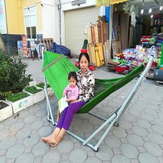 Võng Xếp Sài Gòn Kèm Lưới Võng Cỡ Đại Phi 32 -Size Lớn - võng 1 thumbnail