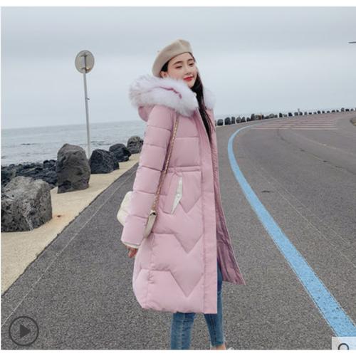 Áo khoác phao siêu ấm dáng dài thời trang nữ