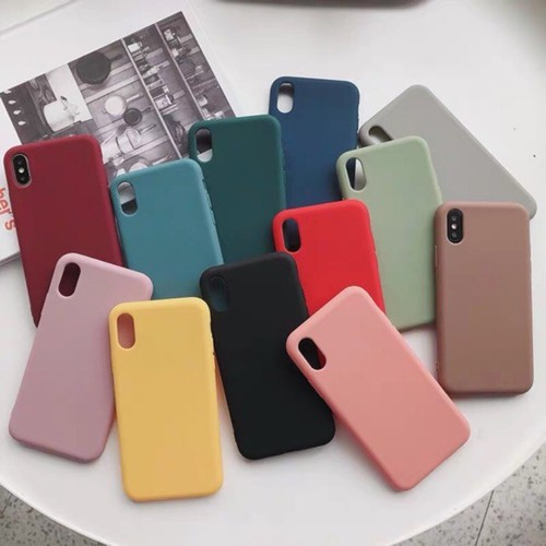Ốp lưng iphone dẻo trơn, đủ mã cho iphone