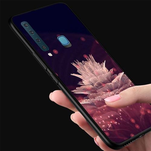 Ốp kính cường lực cho điện thoại Samsung Galaxy A9 2018 - A9 Pro - Đủ nắng thì hoa nở MS DNTHN023