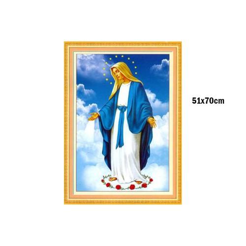 A906tranh thêu chữ thập công giáo 51x70cm - 13081585 , 21126834 , 15_21126834 , 119999 , A906tranh-theu-chu-thap-cong-giao-51x70cm-15_21126834 , sendo.vn , A906tranh thêu chữ thập công giáo 51x70cm
