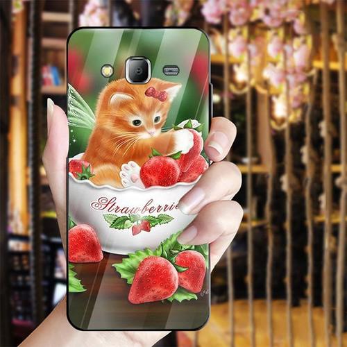 Ốp điện thoại kính cường lực cho máy Samsung Galaxy J2 Prime - dễ thương muốn xỉu MS CUTE042