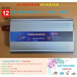 Bộ đổi nguồn điện inverter 500W