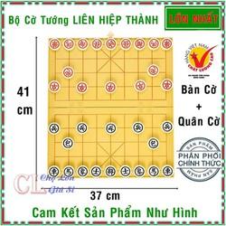 Bàn Cờ Tướng và Quân Cờ LIÊN HIỆP THÀNH loại LỚN - Bộ Cờ Tướng hàng Việt Nam chất lượng cao