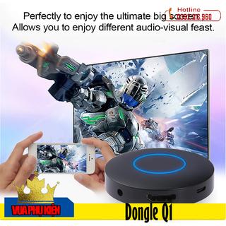 Thiết Bị HDMI Không Dây Kết Nối Điện Thoại Với TV Dongle Q1 Hỗ Trợ Kết Nối AV - Dongle Q1 thumbnail