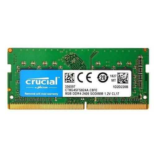 Ram laptop 8GB DDR4 bus 2400 Mhz Micron-Crucial..