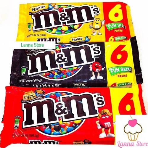 Sô cô la m and m gói 6 packs 91.2g - mỹ - 13106059 , 21175148 , 15_21175148 , 66000 , So-co-la-m-and-m-goi-6-packs-91.2g-my-15_21175148 , sendo.vn , Sô cô la m and m gói 6 packs 91.2g - mỹ