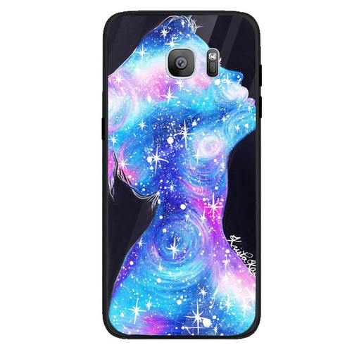 Ốp điện thoại dành cho máy samsung galaxy s7 - phía sau một cô gái ms ps1cg026