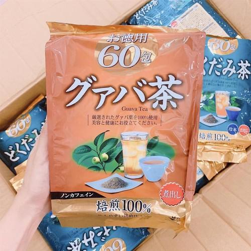 Trà giảm cân vị ổi orihiro guava tea nhật bản 60 gói - 13085461 , 21132021 , 15_21132021 , 220000 , Tra-giam-can-vi-oi-orihiro-guava-tea-nhat-ban-60-goi-15_21132021 , sendo.vn , Trà giảm cân vị ổi orihiro guava tea nhật bản 60 gói