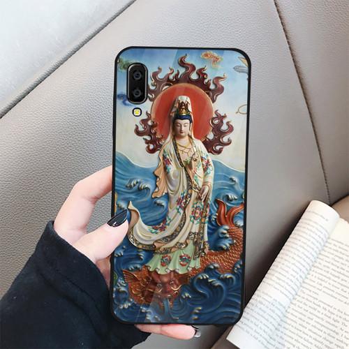 Ốp điện thoại kính cường lực cho máy Samsung Galaxy A7 2018 - A750 - Tôn giáo MS TGIAO008