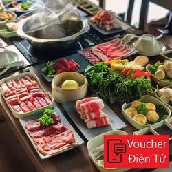 [Voucher Điện Tử] Buffet Lẩu Chỉ 208k Tại Rakuen Hotpot