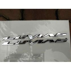 Bộ tem nổi Yamaha Luvias Crôm