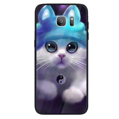 Ốp điện thoại dành cho máy samsung galaxy s7 edge - dễ thương muốn xỉu ms cute010