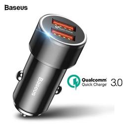 Tẩu sạc điện thoại nhanh Baseus QC3.0 cho ô tô xe hơi