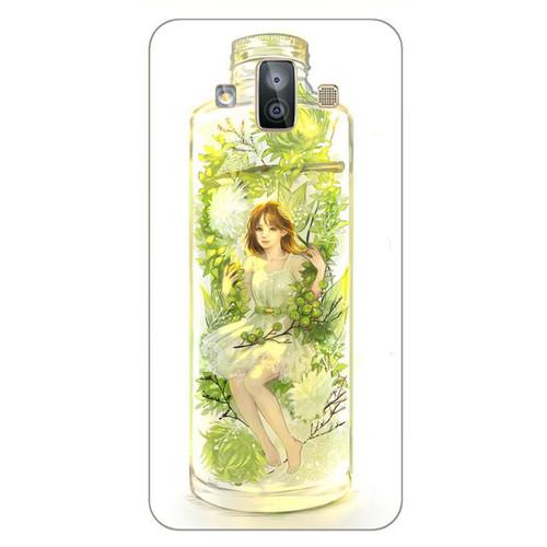 Ốp điện thoại dành cho máy Samsung Galaxy J7 Duo - Cô Bé Trong Chiếc Lọ Thủy MS CBTCL029