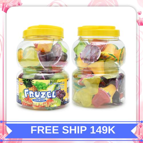 Rau câu fruzel natural fruit jelly hương trái cây|rau cau fruzel xuất xứ mỹ 1,45kg 38 viên - 17456382 , 21149111 , 15_21149111 , 295000 , Rau-cau-fruzel-natural-fruit-jelly-huong-trai-cayrau-cau-fruzel-xuat-xu-my-145kg-38-vien-15_21149111 , sendo.vn , Rau câu fruzel natural fruit jelly hương trái cây|rau cau fruzel xuất xứ mỹ 1,45kg 38 viên