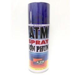 Sơn Xịt ATM Spray A216 Xanh Đen - Huy Tưởng