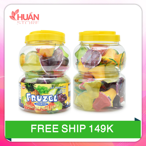 Rau câu fruzel natural fruit jelly hương trái cây|rau cau fruzel xuất xứ mỹ 1,45kg 38 viên - 13097557 , 21164281 , 15_21164281 , 295000 , Rau-cau-fruzel-natural-fruit-jelly-huong-trai-cayrau-cau-fruzel-xuat-xu-my-145kg-38-vien-15_21164281 , sendo.vn , Rau câu fruzel natural fruit jelly hương trái cây|rau cau fruzel xuất xứ mỹ 1,45kg 38 viên