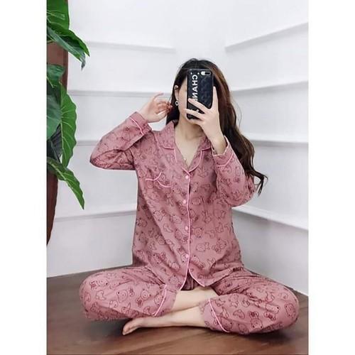Đồ bộ mặc nhà Pijama dài tay - 11384685 , 21198549 , 15_21198549 , 140000 , Do-bo-mac-nha-Pijama-dai-tay-15_21198549 , sendo.vn , Đồ bộ mặc nhà Pijama dài tay