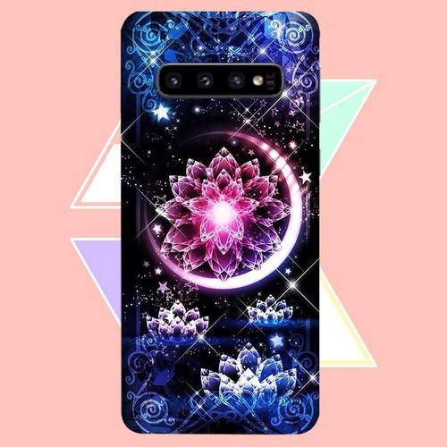 Ốp điện thoại dành cho máy samsung galaxy s10 - lung linh sắc màu ms llsm052