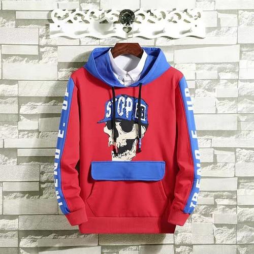 Áo hoodie nam in chữ phối họa tiết mặt kiểu dáng thời trang đường phố 21019 - 13130868 , 21208974 , 15_21208974 , 110000 , Ao-hoodie-nam-in-chu-phoi-hoa-tiet-mat-kieu-dang-thoi-trang-duong-pho-21019-15_21208974 , sendo.vn , Áo hoodie nam in chữ phối họa tiết mặt kiểu dáng thời trang đường phố 21019