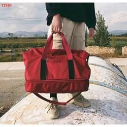 Túi du lịch bản to khóa kéo