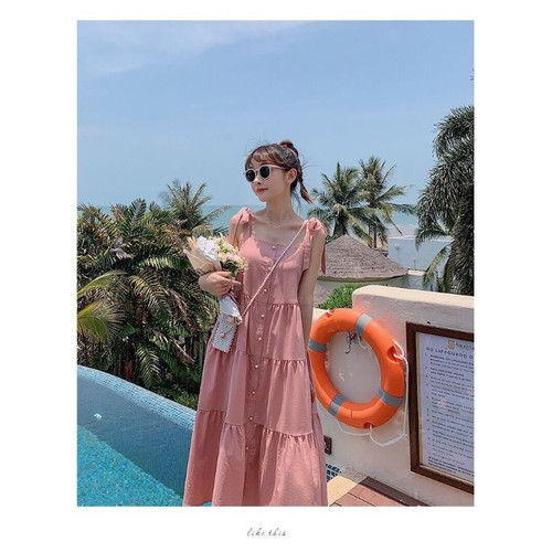 Đầm nữ phong cách dạo biển - 13129454 , 21207067 , 15_21207067 , 105000 , Dam-nu-phong-cach-dao-bien-15_21207067 , sendo.vn , Đầm nữ phong cách dạo biển