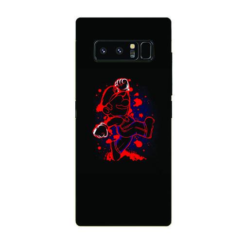 Ốp điện thoại samsung galaxy note 9 - super mario ms mario014