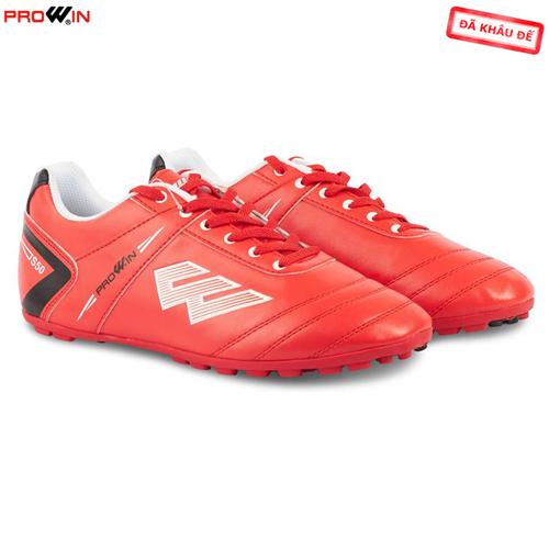 Giày bóng đá sân có nhân tạo Prowin S50 màu đỏ chính hãng