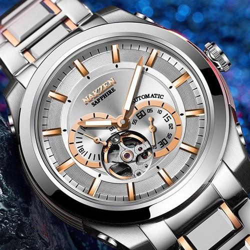 [Cao cấp] đồng hồ cơ nam nakzen chính hãng, mặt kính sapphire, chống nước tuyệt đối, bảo hành 2 năm - 12479280 , 21189249 , 15_21189249 , 5800000 , Cao-cap-dong-ho-co-nam-nakzen-chinh-hang-mat-kinh-sapphire-chong-nuoc-tuyet-doi-bao-hanh-2-nam-15_21189249 , sendo.vn , [Cao cấp] đồng hồ cơ nam nakzen chính hãng, mặt kính sapphire, chống nước tuyệt đối,