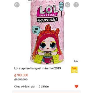 Lol surprise hairgoal mẫu mới 2019 - 028 thumbnail