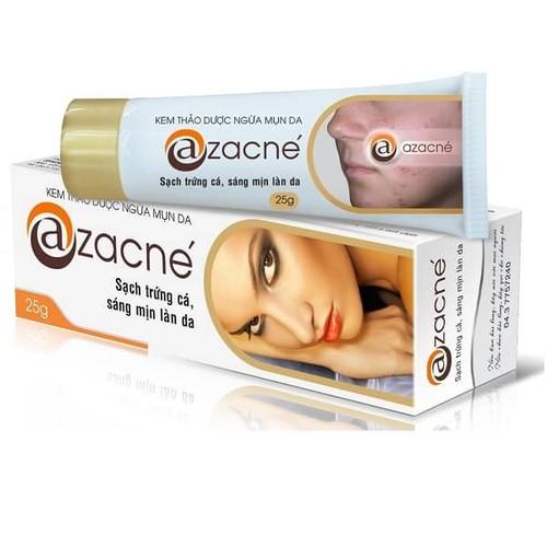 Azacne kem trị mụn trứng cá hiệu quả