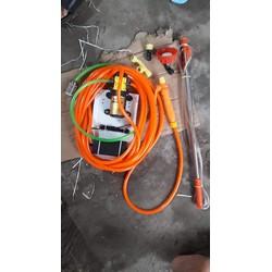 01 bộ máy bơm tưới lan dây cam