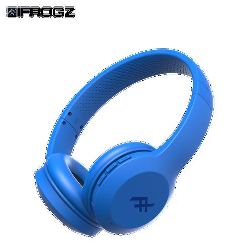 Tai nghe ifrogz không dây headphone audio resound blue