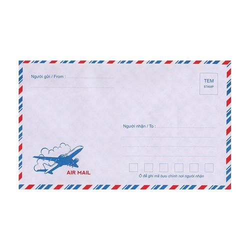 Combo 25 chiếc phong bì thư, bao thư hàng loại 1