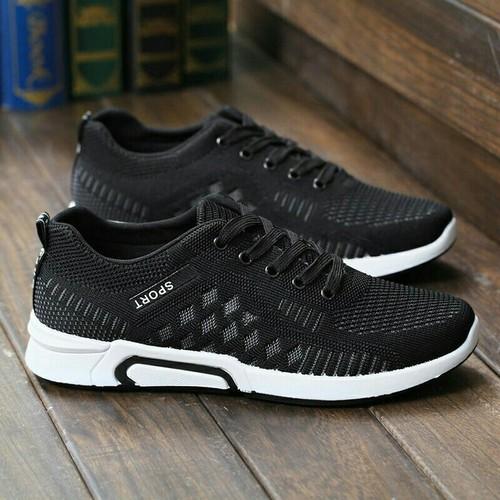 Giày thể thao nam ô trắng - giày nam -  sneakers