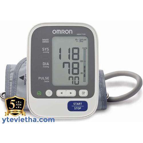 Máy đo huyết áp bắp tay cao cấp omron hem-7130 - 13120548 , 21194860 , 15_21194860 , 1500002 , May-do-huyet-ap-bap-tay-cao-cap-omron-hem-7130-15_21194860 , sendo.vn , Máy đo huyết áp bắp tay cao cấp omron hem-7130