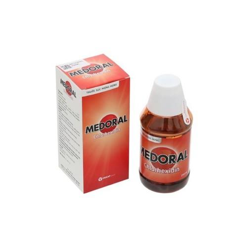 Nước súc miệng medoral - hỗ trợ điều trị bệnh răng miệng chai 125ml