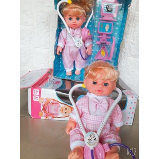 Bộ đồ chơi búp bê y tá - YTKB43 thumbnail
