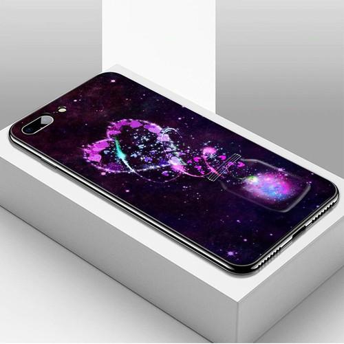 Ốp điện thoại dành cho máy iphone 7 plus  -  8 plus - trái tim tình yêu ms love085