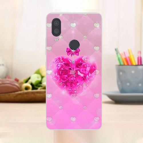 Ốp điện thoại vsmart active 1+ - trái tim tình yêu ms love076