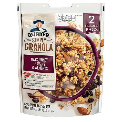 Yến mạch ăn liền siêu ngon granola quaker oats - 13133402 , 21212496 , 15_21212496 , 279000 , Yen-mach-an-lien-sieu-ngon-granola-quaker-oats-15_21212496 , sendo.vn , Yến mạch ăn liền siêu ngon granola quaker oats