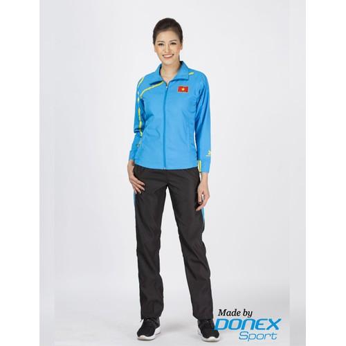 Áo khoác thể thao nữ, donexpro 133