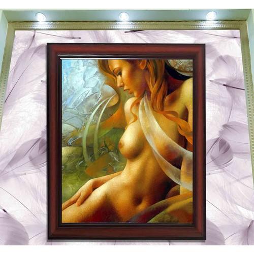 Tranh thiếu nữ khỏa thân nghệ thuật kèm khung kt: 60x86cm - 13129411 , 21207021 , 15_21207021 , 520000 , Tranh-thieu-nu-khoa-than-nghe-thuat-kem-khung-kt-60x86cm-15_21207021 , sendo.vn , Tranh thiếu nữ khỏa thân nghệ thuật kèm khung kt: 60x86cm