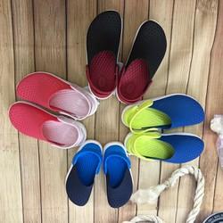 Crocs-Sục literide trẻ em chất liệu siêu mềm êm-giày dép nhựa mềm